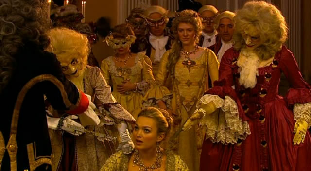 Reinette, Madame du Pompadour, is held hostage by clockwork robots from the 51st Century.