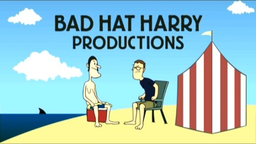 Title card for Bad Hat Harry.