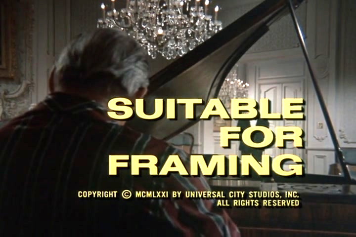 Columbo: Suitable for Framing (1971)