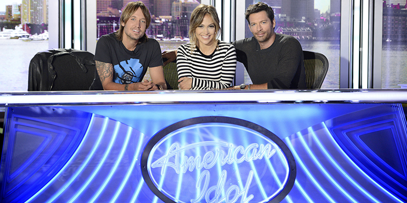 American Idol season 13 judges: Keith Urban, Jennifer Lopez, and Harry Connick, Jr.